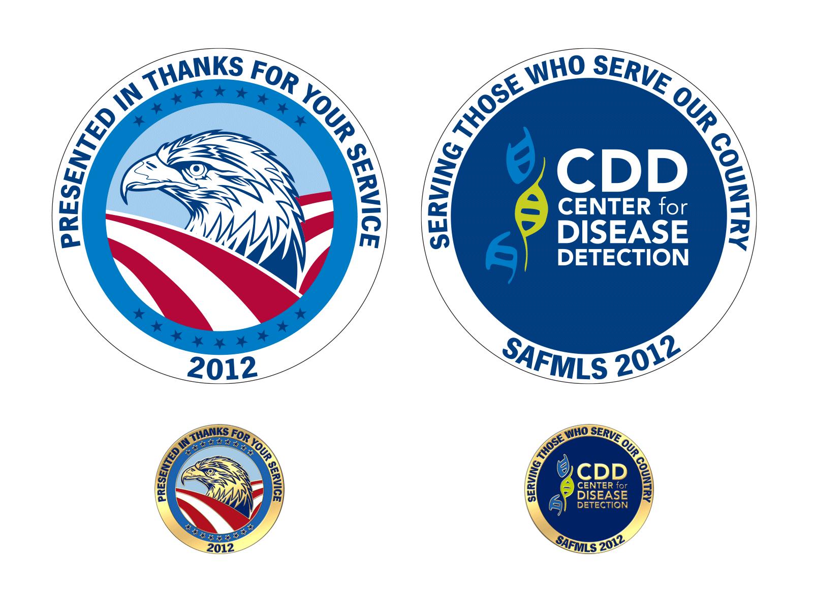 Center for Disease Detection : Coin