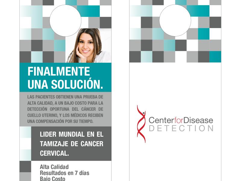 Center for Disease Detection : Door Hanger