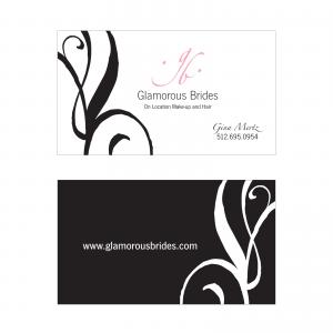 Glamorous Brides : Business Card