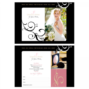 Glamorous Brides : Website