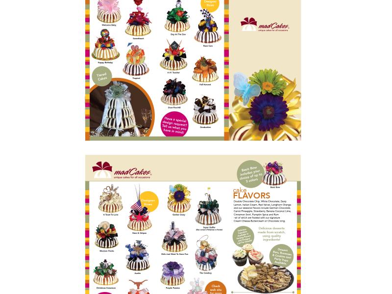 madCakes : Tri-Fold Brochure