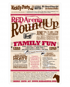 RED Arena : Poster – Round Up 2014