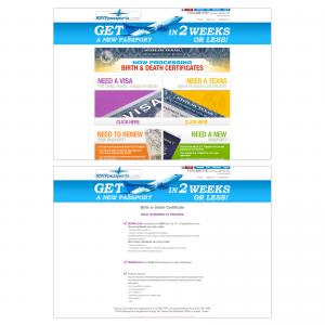 RSVP Passports : Website Updates & Maintenance