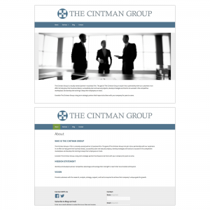 The Cintman Group : Website and Maintenance