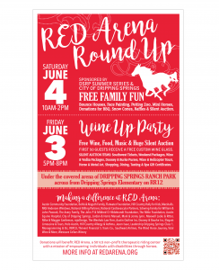 RED Arena : Poster – Round Up 2016