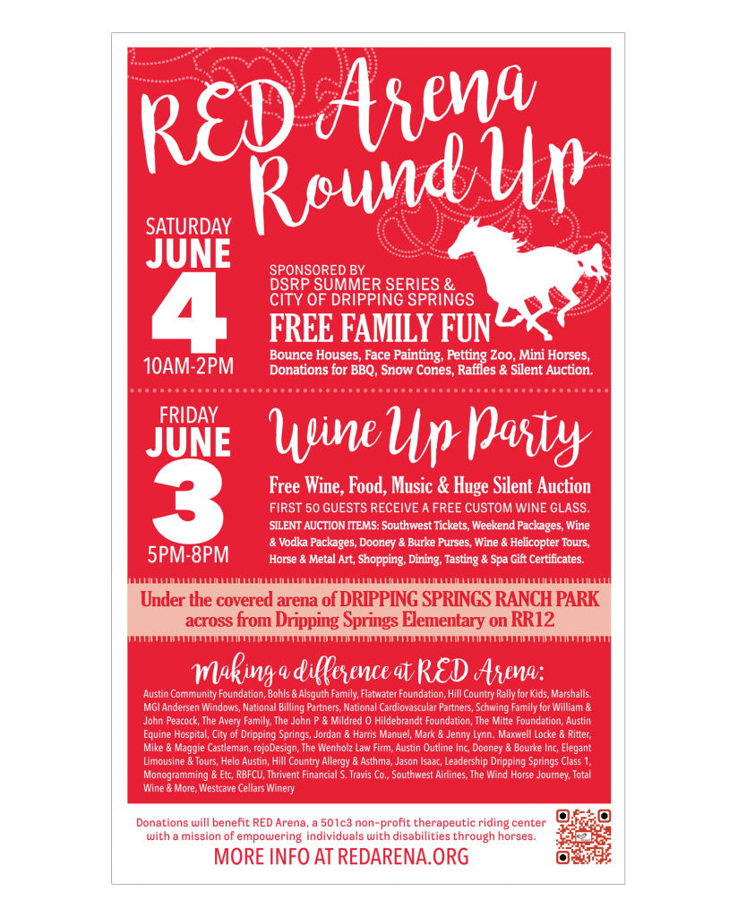 RED Arena Round Up 2016 Poster