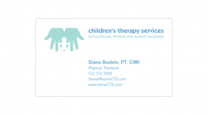 Children's Therapy Services : Business Card