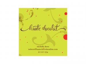 haute chocolat : Business Card
