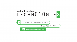 System Evolution Technologies : Business Card