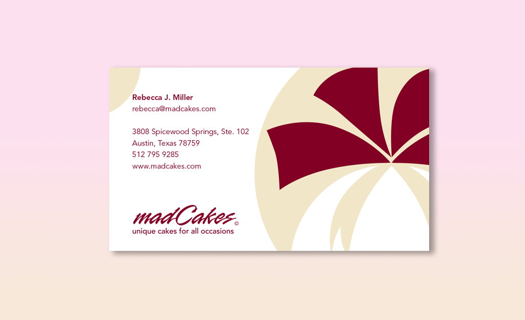 madCakes Business Card