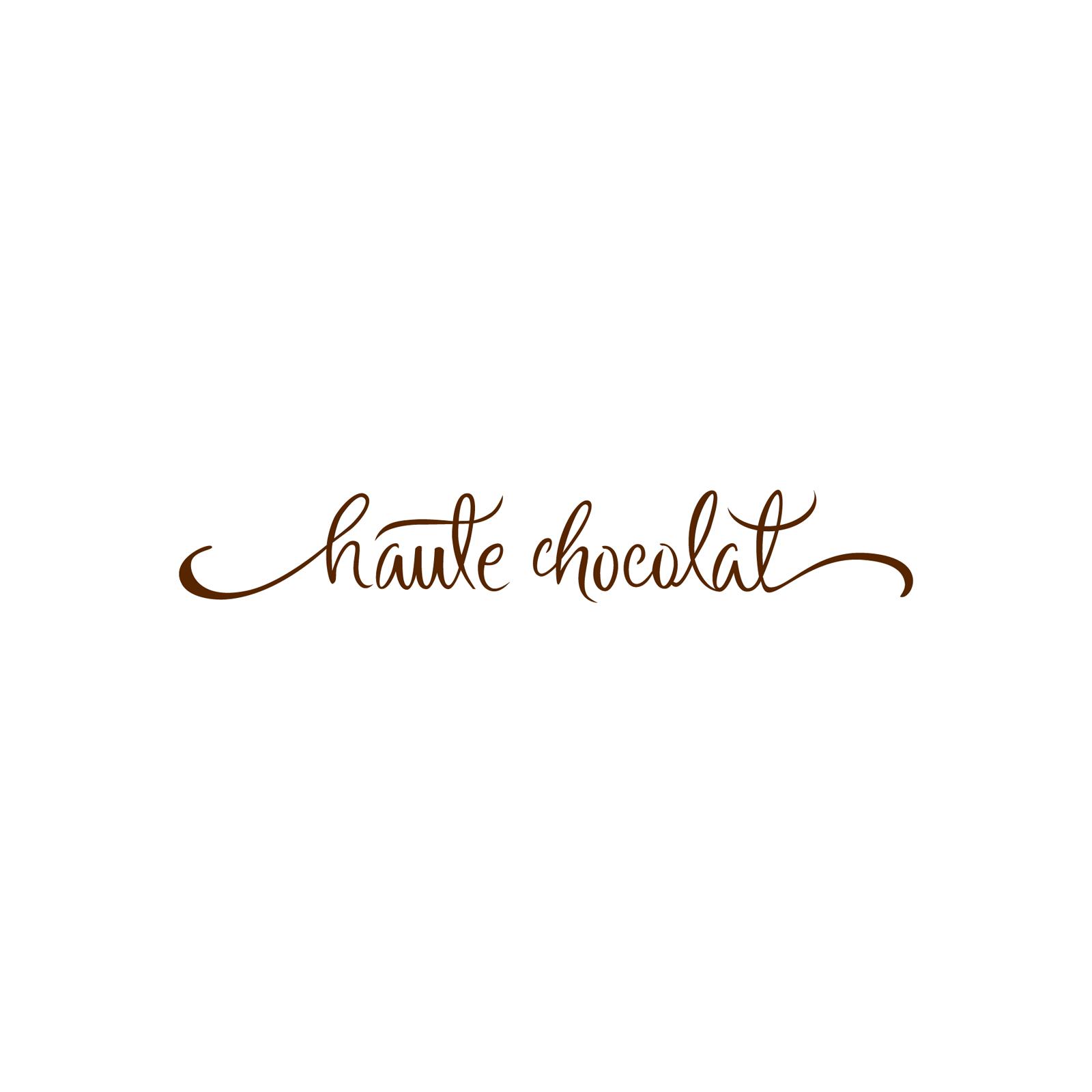 haute chocolat : Logo